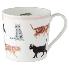 Waitrose Dorset Cats Mug