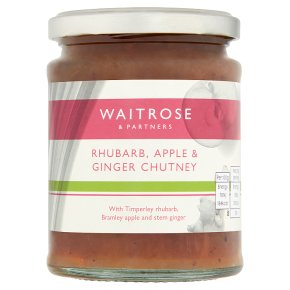 Waitrose rhubarb chutney