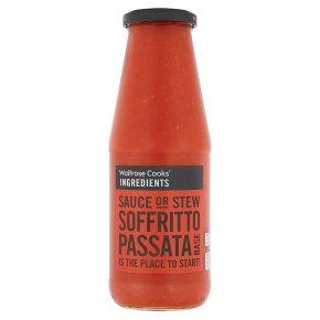 Waitrose Cooks' Ingredients soffritto passata pasta sauce