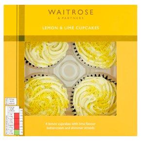 Waitrose Lemon & Lime Cupcakes