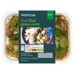 Waitrose Cod Thai Green Curry