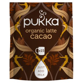 Pukka Organic Latte Cacao Maca Magic 15 Servings