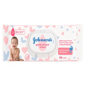 Johnson's Gentle All Over Baby Wipes