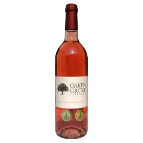 Oaken Grove Benham Blush, English, Rosé Wine