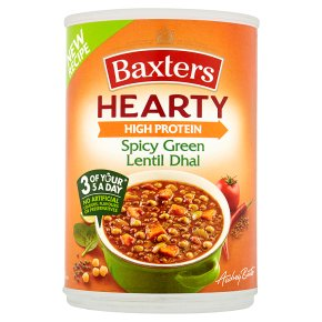 Baxters Hearty Spicy Green Lentil Dhal Soup