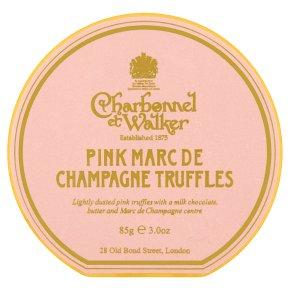 CetW Pink Marc de Champagne Truffle