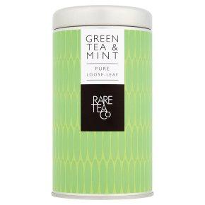 Rare Tea Co Green Tea & Mint Pure Loose-Leaf Tea