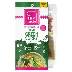 Thai Taste easy thai green curry kit