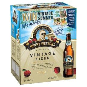 Henry Westons Vintage Cider Herefordshire