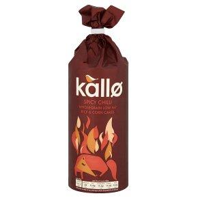Kallo Spicy Chilli Rice & Corn Cakes