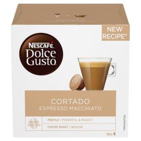 Nescafé Dolce Gusto espresso macchiato pods