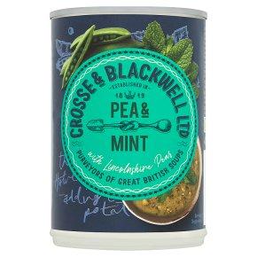 Crosse & Blackwell Best of British Pea & Mint Soup