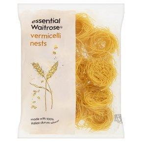 essential Waitrose vermicelli nests