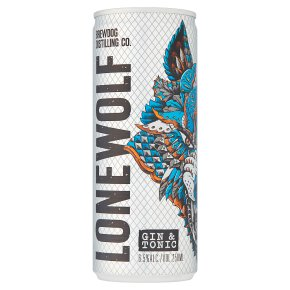 Lone Wolf Gin & Tonic Ready to Drink