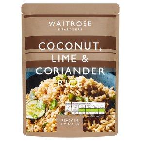 Waitrose Coconut, Lime & Coriander Rice
