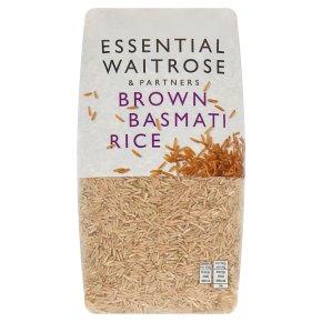 essential Waitrose Brown Basmati Rice