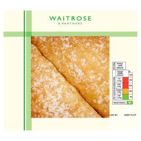 Waitrose Bramley Apple & Cream Turnovers