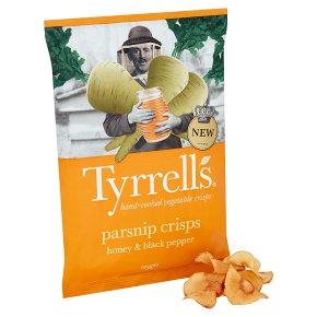 Tyrrell's Parsnip Crisps with Honey & Black Pepper