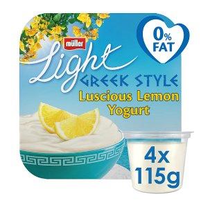 Müllerlight Greek style yogurt lemon