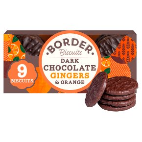 Border Dark Chocolate Gingers & Orange