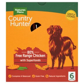 Country Hunter Chicken with Fruit & Veg