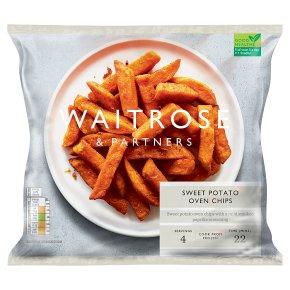 Waitrose sweet potato oven chips