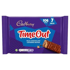 Cadbury Timeout Wafer Chocolate Biscuit Bar