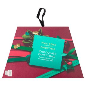 Waitrose Christmas chocolate panettone