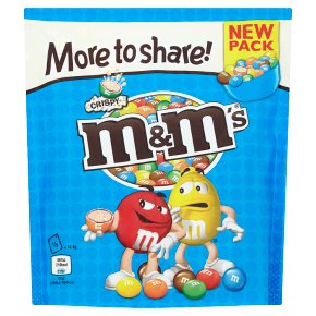 M&Ms More to Share Crispy