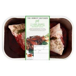 The Honest Butcher 2 Lamb Shanks In Redcurrant