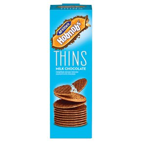 McVitie's Hobnobs Thins Milk Chocolate