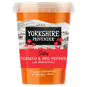 Yorkshire Provender tomato & red pepper soup