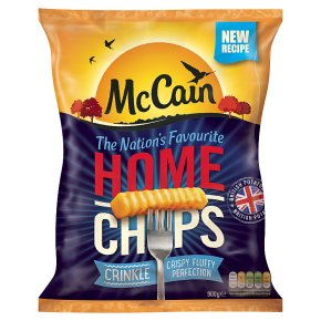 McCain home chips crinkle cut