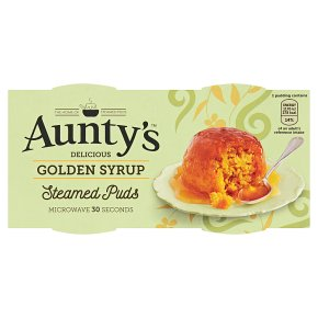 Aunty's Steamed Golden Syrup Puddings