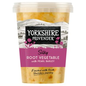 Yorkshire Provender Root Vegetable Soup with Pearl Barley