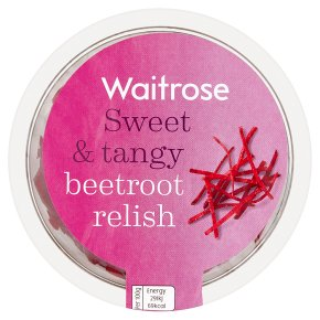 Waitrose Shredded Beetroot With Onions