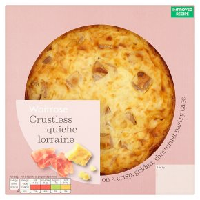 Waitrose Crustless Quiche Lorraine