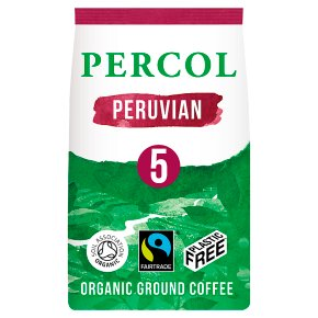 Percol Fairtrade Peruvian Ground Coffee
