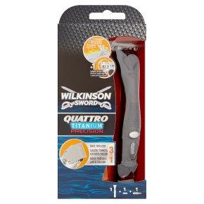 Wilkinson Sword, quattro titanium precision razor