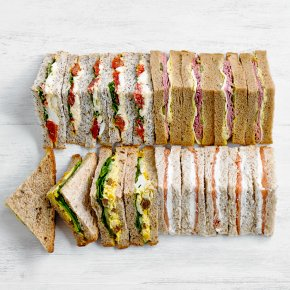 Luxury Sandwich Platter - mixed
