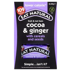 Eat Natural Lower Calorie Cocoa & Ginger Bars