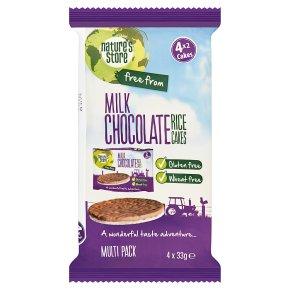 Nature's Store Milk Chocolate Rice Cakes