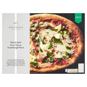 No.1 Five Cheese Sourdough Pizza
