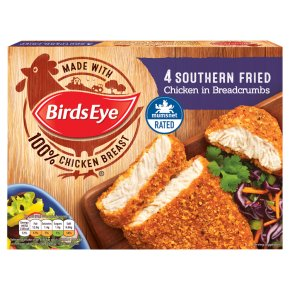 Birds Eye 4 Southern Fried Chicken Grills