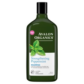 Avalon Organics peppermint shampoo