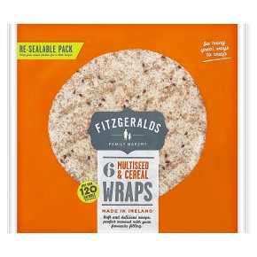 Fitzgeralds Multiseed & Cereal Wraps