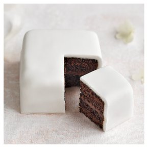 Chocolate Sponge Sample Wedding Cake