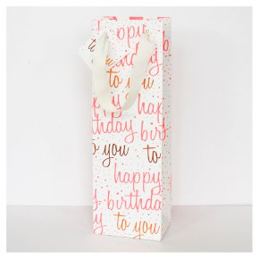 CG Neon Birthday Bottle Bag