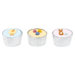 Rabbit, Chick, Egg Cupcakes
