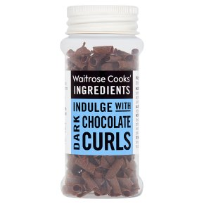 Cooks' Ingredients dark chocolate curls